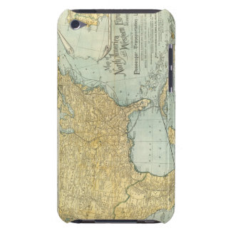N America, W Europe passenger lines iPod Touch Covers