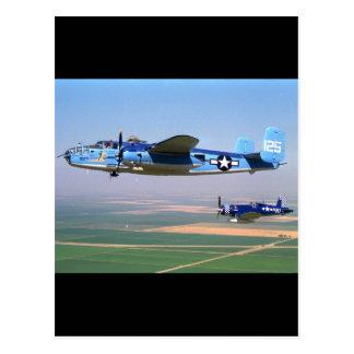 N. American, B-25, 1943_Classic Aviation Postcard