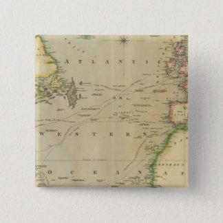 N Atlantic Ocean 15 Cm Square Badge