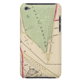 N Burial Ground and Woonsocket Company Atlas Map iPod Touch Cases