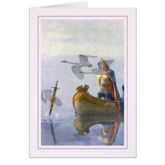 N C Wyeth Greeting Card
