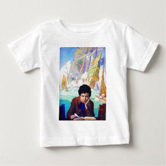 N C Wyeth's Tales Of Adventure Baby T-Shirt