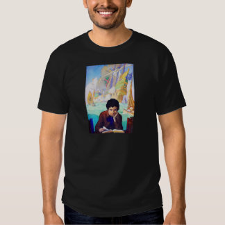 N C Wyeth's Tales Of Adventure T-shirt
