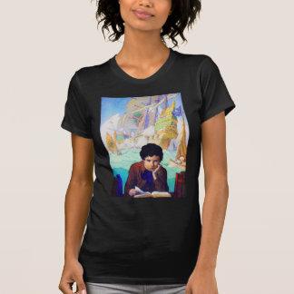 N C Wyeth's Tales Of Adventure T-shirts