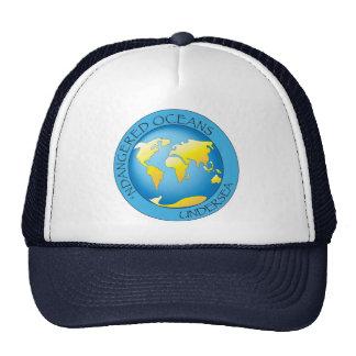 """N"" Dangered Oceans Trucker Hat"