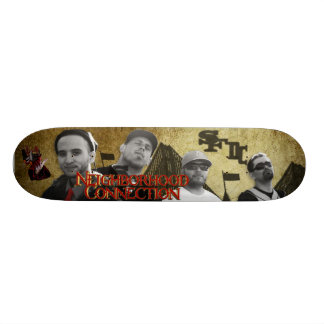 N. H. C. :HEART & SHADOW OF THE CITY SKATE BOARD