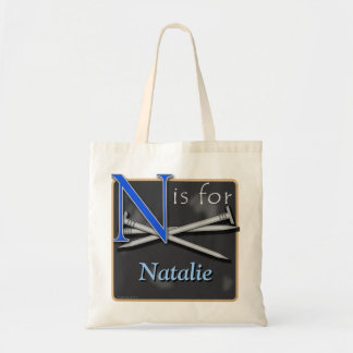 N Is For Nails N Is For Natalie Budget Tote Bag