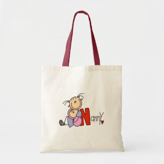 N is for Nanny Tote Bag