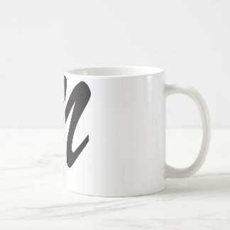 N is For Nasty Basic White Mug
