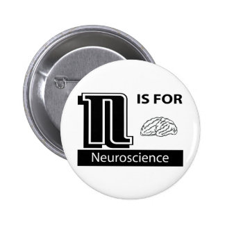 N Is For Neuroscience 6 Cm Round Badge