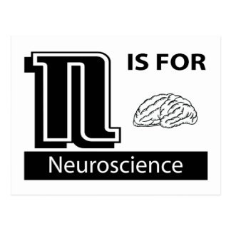 N Is For Neuroscience Postcard