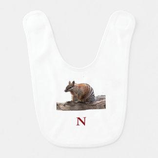 N Is For Numbat Bib