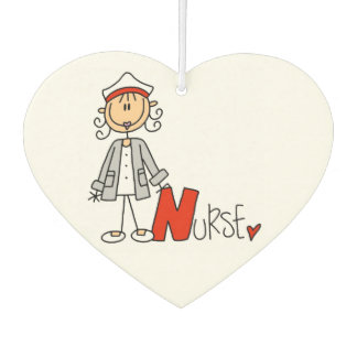 N is for Nurse Air Freshner Car Air Freshener