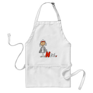 N is for Nurse Adult Apron
