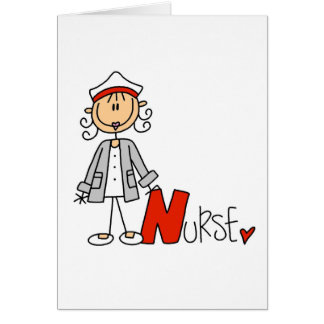 N is for Nurse Greeting Card