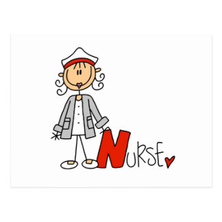 N is for Nurse Postcard
