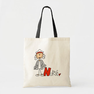 N is for Nurse Tote Bags