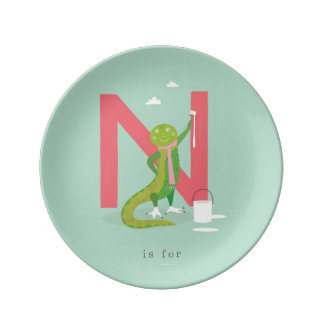 N is for... plate