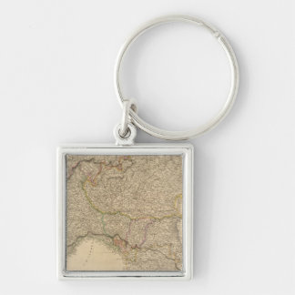 N Italy, Alps Key Ring