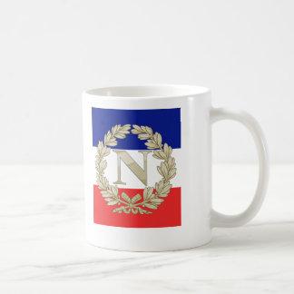 N Laurel w Tricolour Basic White Mug