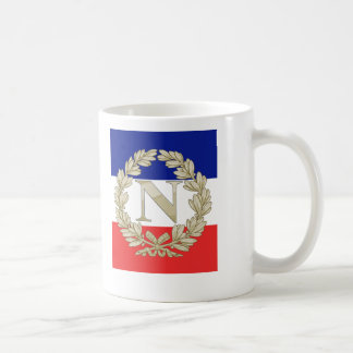 N Laurel w Tricolour Coffee Mug