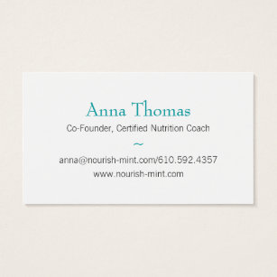Body mind business cards business card printing zazzle uk n m business card solid teal colourmoves