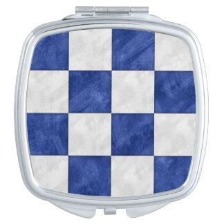 N November Watercolor Nautical Signal Maritime Fla Mirror For Makeup