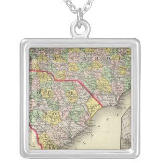 N & S Carolina Silver Plated Necklace