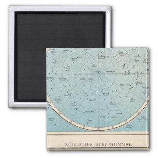 N, S Sternhimmel Celestial Atlas Map Magnet