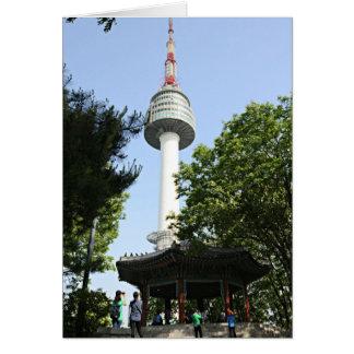N Seoul Tower Card