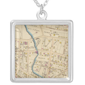 N Tarrytown, Tarrytown, New York Silver Plated Necklace