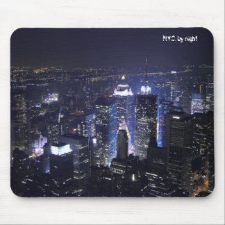N.Y.C. by night Mouse Mat