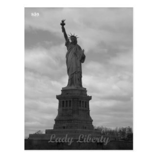 N Y E Lady Liberty Post Cards