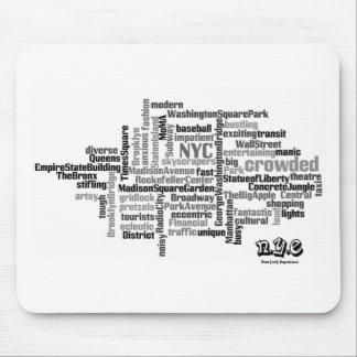 N.Y.E Pick a Word Mouse Mat