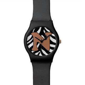 N-Zebra Fashion Watch
