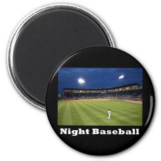 NA118.Night Baseball Fridge Magnets