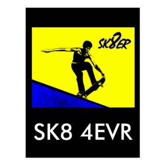 NA122P.SK8ER POSTCARD