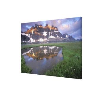 NA, Canada, Alberta, Tonoquin Valley. Jasper Gallery Wrap Canvas