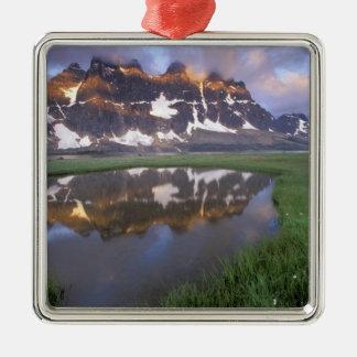NA, Canada, Alberta, Tonoquin Valley. Jasper Christmas Ornament