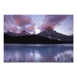 NA, Canada, Banff NP, Morning's first light on Photographic Print