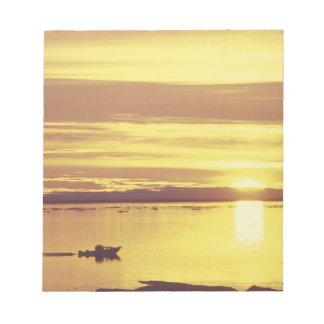 NA, Canada, Canadian Arctic, Baffin Island Notepad