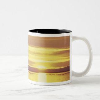 NA, Canada, Canadian Arctic, Baffin Island Two-Tone Coffee Mug
