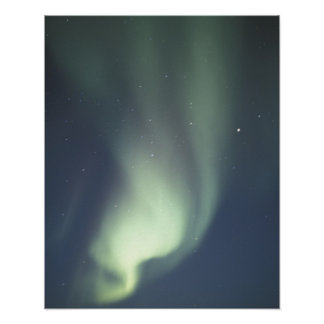 NA, Canada, Manitoba, Churchill Northern lights, Poster