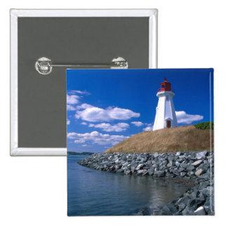 NA, Canada, New Brunswick, Campobello Island. 5 15 Cm Square Badge