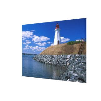NA, Canada, New Brunswick, Campobello Island. 5 Canvas Print