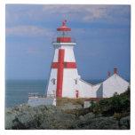 NA, Canada, New Brunswick, Campobello Island. Ceramic Tile
