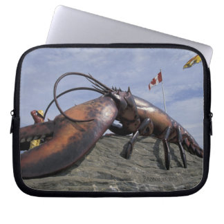 NA, Canada, New Brunswick, Shediak, World's Laptop Sleeve