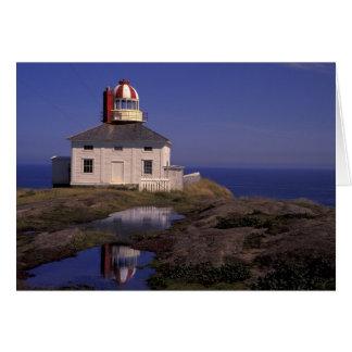 NA, Canada, Newfoundland, Cape Spear. Old Cape Card