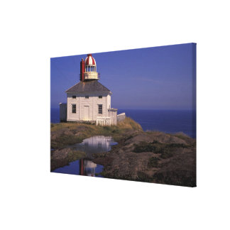 NA, Canada, Newfoundland, Cape Spear. Old Cape Gallery Wrap Canvas