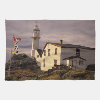 NA, Canada, Newfoundland, Lobster Cove. Lobster Tea Towel